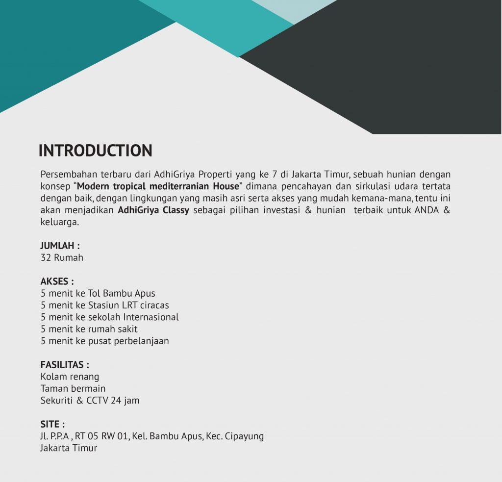Adhigriya Classy Marketing Info : 08111229182